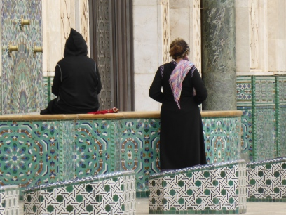 Women at Hassan II