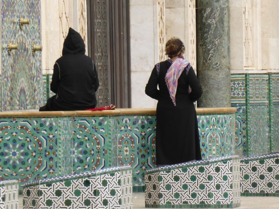 Women at Hassan II