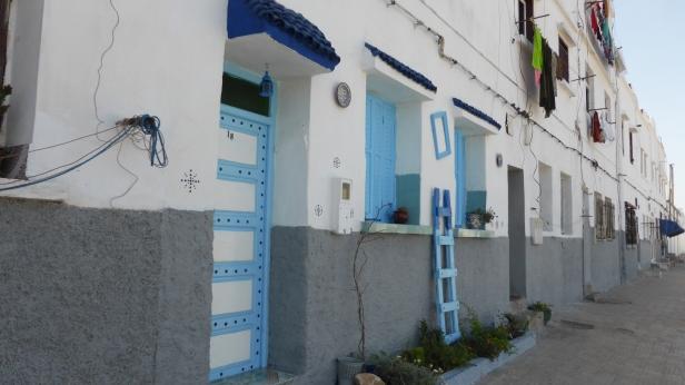 House front Casablanca
