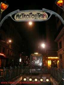 Le métro - the tube