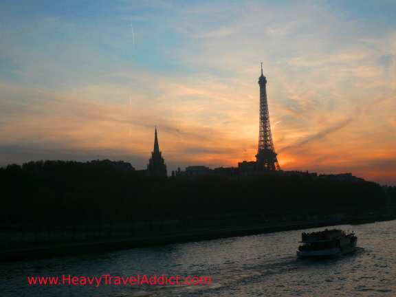 The Seine and the Eiffel Tower