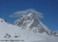 Matterhorn with a hat