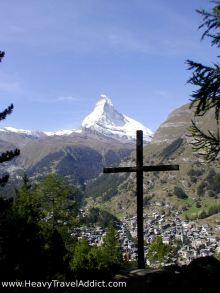 Zermatt from above