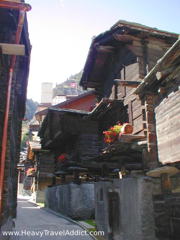 Zermatt Old Village