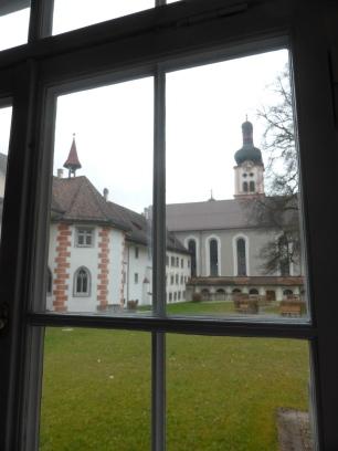 Monastery court