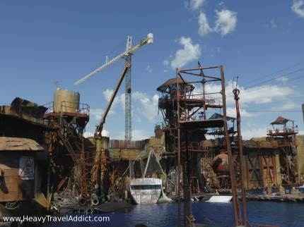 WaterWorld, Universal Studios - loved it