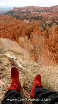 My red boots loved it here