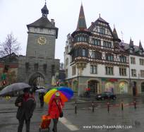 Konstanz under the rain