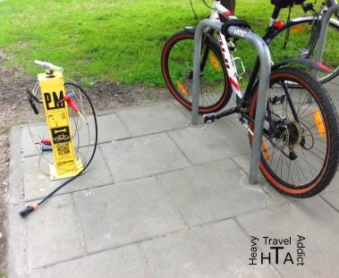 Must have: Bike repair station