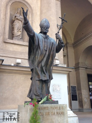John Paul II wherever you go