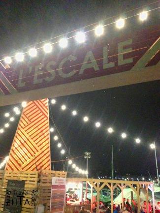 Ephemeral Bar down at the Lake Quai Wilson - for free
