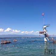 Genève Plage - paying swimming pool