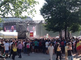 World cup - big screen at Plainpalais - for free