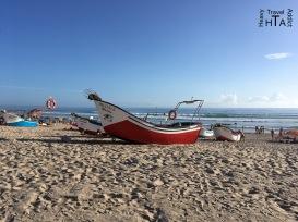 Costa de Caparica scenic beach life