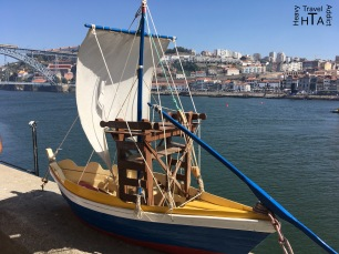 Miniature boat in Porto